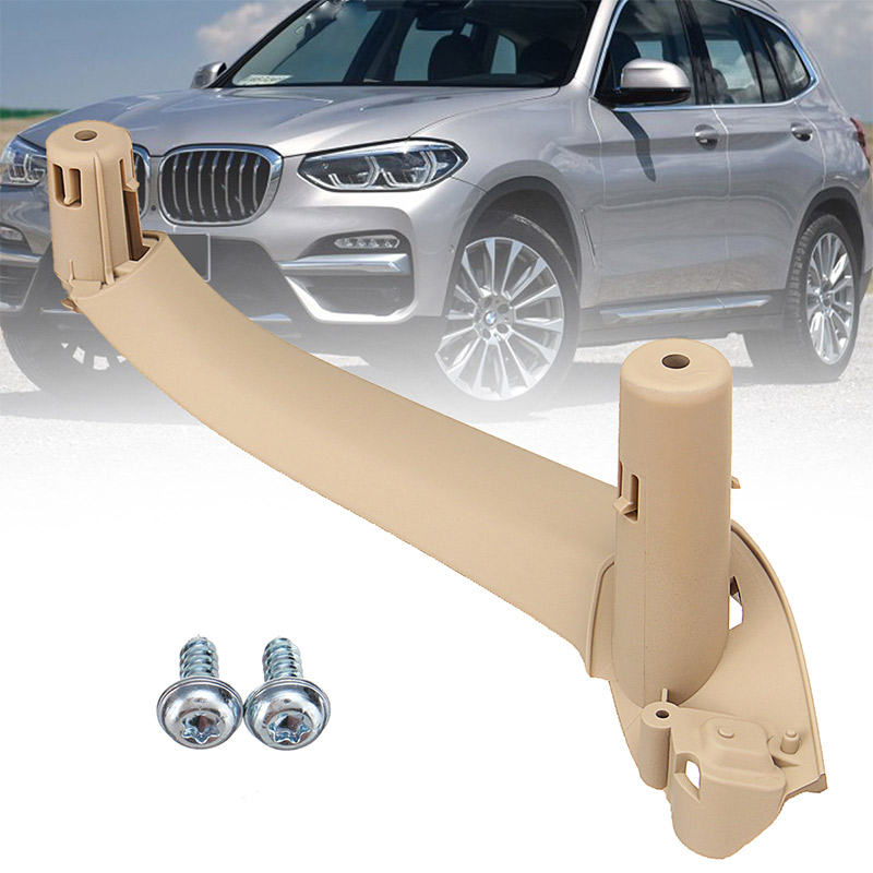 4Pcs Car Inner Handle Interior Door Panel Pull Trim Cover for BMW X4 F26 X3 F25 2011-2017 image