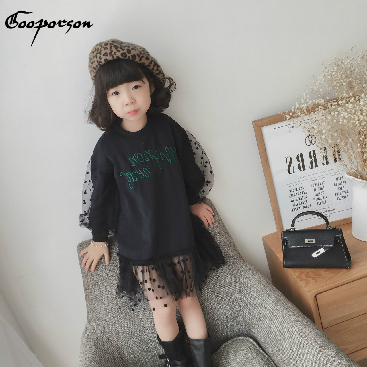 Girls Casual Dress with…