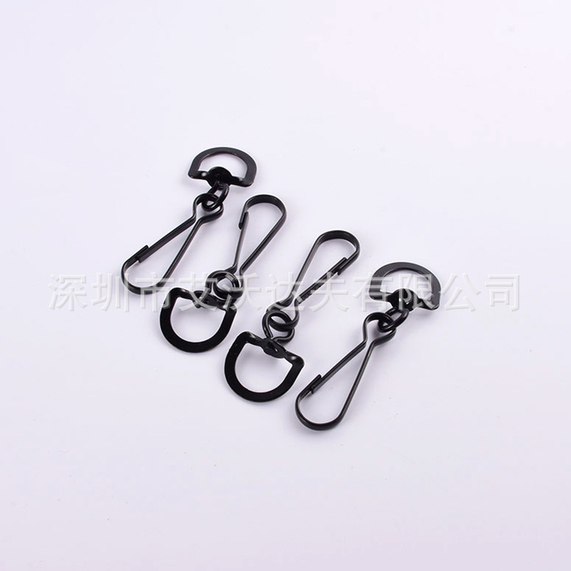 Manufacturers Direct Selling High Quality Embossed Pig Gall Buckle Hardware Clasp Hanging Buckle Multi-Specification Algam Rotat