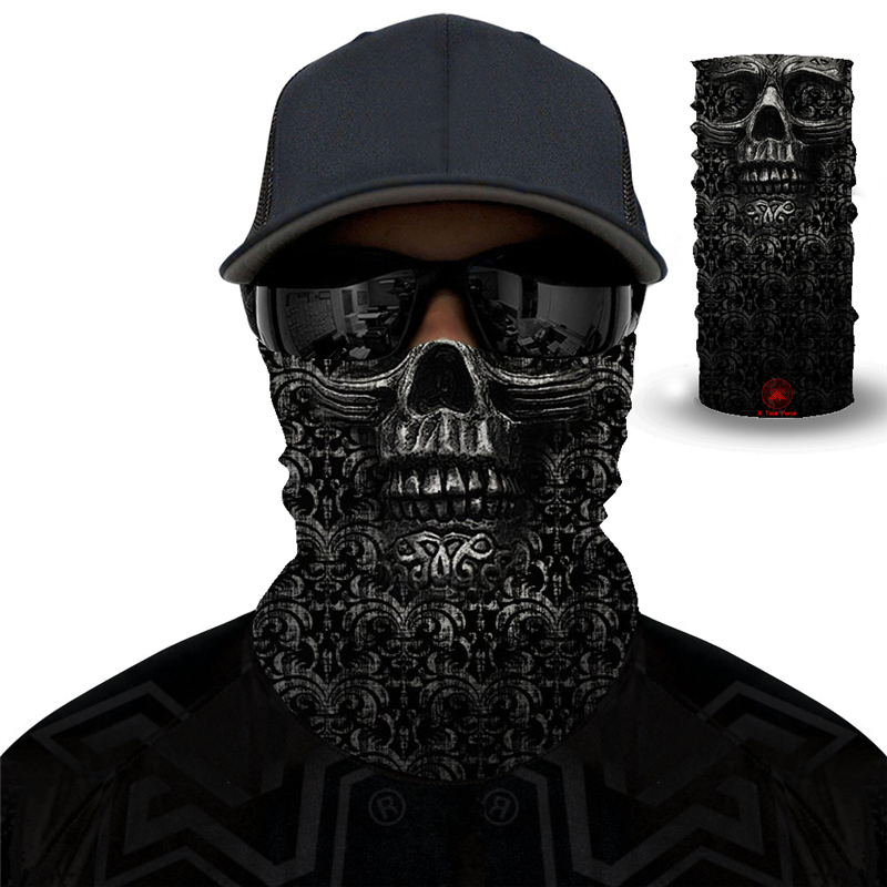 2PCS Hiking Scarf Sport Headwear Men Women Bandanas Motorcycle Turban Hand Band Magic Scarves Outdoor Cycling Headband Mask