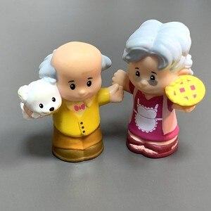 BIXE Fisher Little 2-дюймовые мини-фигурки животных на ферме, Мультяшные фигурки, игрушки, рождественский подарок для детей