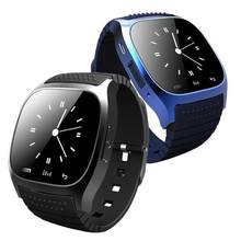 M26 Smartwatch Bluetooth Wristwatch Sleep Tracker Alarm Clock Message Call Reminder music Camera sport Smart Watch For Andriod(China)
