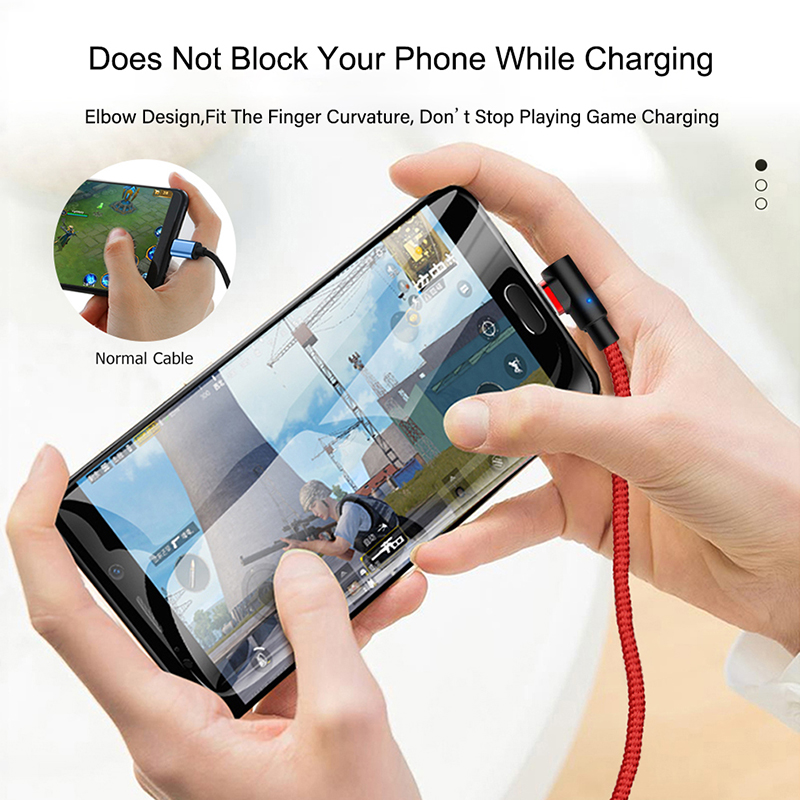 3A Magnetic Cable Micro USB Type C Lighting Cable for iphone XS Huawei honor 9X Fast Charging Magnet Charger Mobile Phone Cables in Mobile Phone Cables from Cellphones Telecommunications