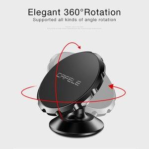 Image 3 - CAFELE soporte magnético de teléfono de coche para teléfono móvil, soporte Universal para teléfono móvil, imán de teléfono móvil, aleación de aluminio