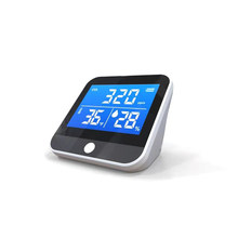 1pc portátil monitor de qualidade do ar temperatura e umidade infravermelho ndir detector co2 detecção interior frete grátis