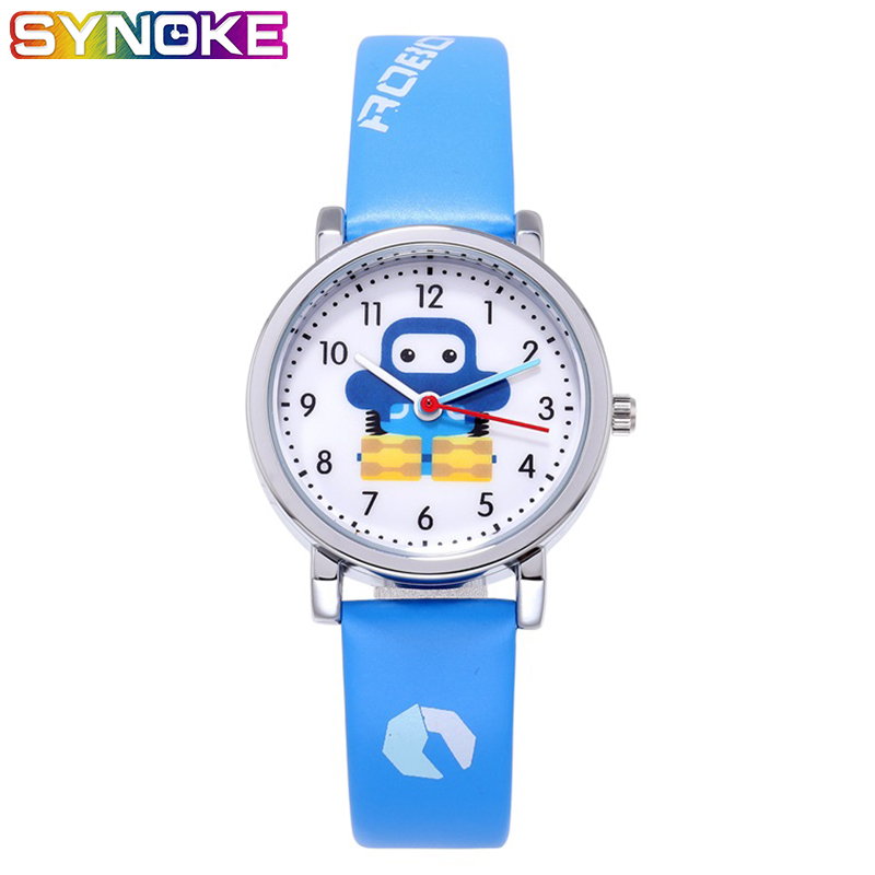 SYNOKE Kids Watches Gifts For Boys Cartoon Watch  11.11  Outdoor Kids Sports Boys High Fashion Cute Student Wristwatch
