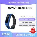 Смарт-браслет Huawei Honor Band 4, водонепроницаемый фитнес-браслет для бега, мониторинг сна