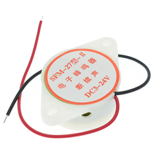 95DB сигнал тревоги высокой частоты 3-24V 12V Электронный звуковой сигнал тревоги прерывистый непрерывный звуковой сигнал для Arduino SFM-27