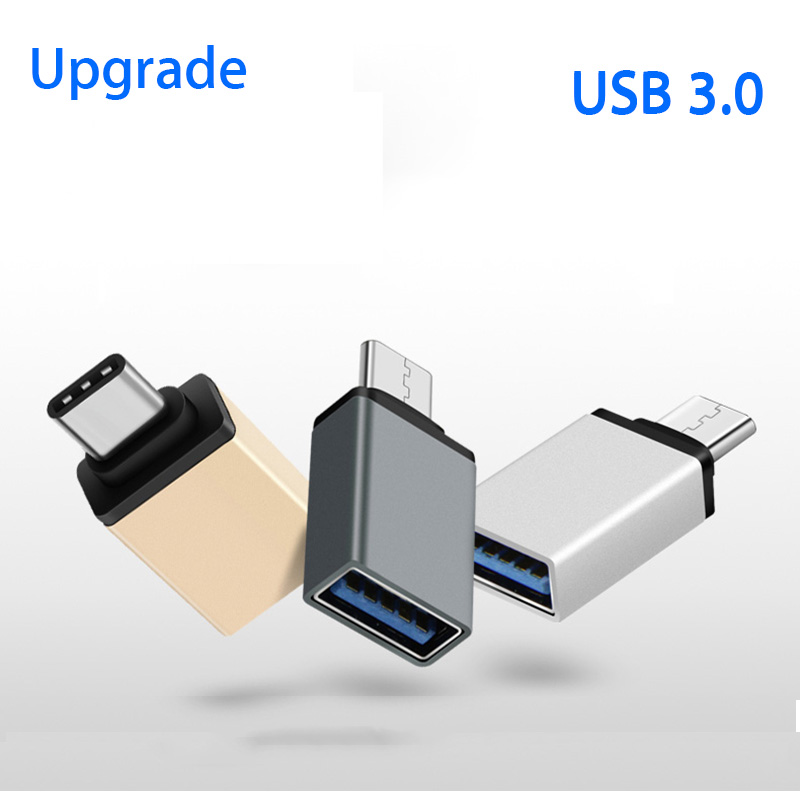 Typc C OTG Adapter Usb Type-c Male To USB 3.0 Converter For Oneplus 7t 7 6t 6 5t Moto Meizu 16 15 Huawei Mate 30 20 Pro P20 Lite