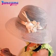 Woman Female Summer Bucket Hats for Girl Kids Princess Travel UV Sun Shade Beach Hat Maiden Shiny Bunny Visor Straw Hat 8-40 Old карниз потолочный пластиковый dda поворот гранд двухрядный карельская берёза 3 8