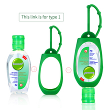Antibacterial Hand Sanitizer Gel Travel Portable Mini Hand Sanitizer Disposable No Clean Waterless With Hand Sanitizer Holder