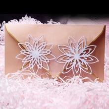New Design Craft Metal Cutting Dies cut die 2pcs flower decoration Scrapbooking Album Paper Card Embossing Die Cuts