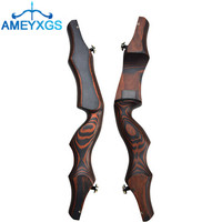 19Archery Recurve Bow Riser Wooden LIF Handle Takedown American Hunt Bow Handle Right Hand Outdoor Hunting Shooting Accessories