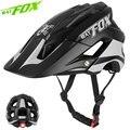 BATFOX велосипедный шлем MTB 2019 новый ночной светоотражающий безопасный велосипедный шлем большой козырек легкий открытый спортивный безопасн...