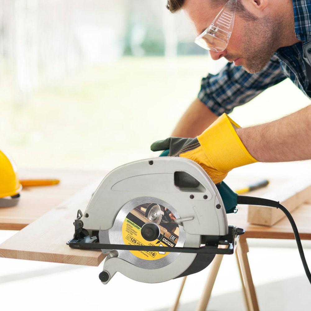 125mm 6T Circular Saw Blade Grinder Wheel Carbide Tipped Wood Cutting Disc