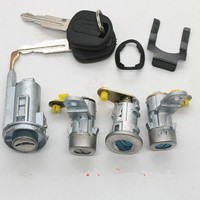 for buick old excelle Left right door lock cylinder trunk lock ignition lock cylinder full set lock