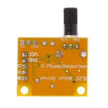 DC 5 V-12 V 2A 15W Brushless Motor Speed Controller Tidak Hall BLDC Driver Papan(China)