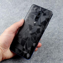 3D Triangle Pattern For Oneplus 7 7T 7Pro Back Film Thin Scr