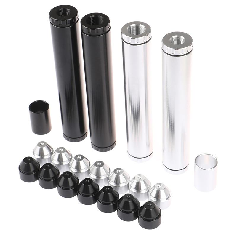 1 Set 1 / 2-28 5 / 8-24 Car Fuel Filter Aluminum Alloy Solvent Trap Filters Car Fuel Filter Parts For Napa 4003 Wix 24003