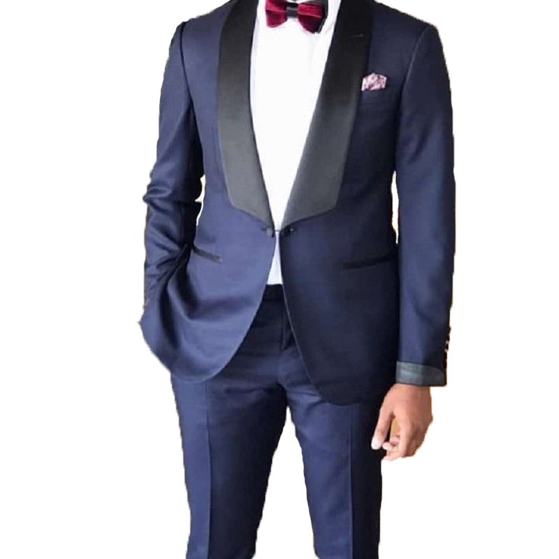 2020 New Mans Suits For Wedding Groom Wear Best Man Wear Tuxedos Men's Classic Business Suit Dinner Suit Two Piece(Jacket+Pants)