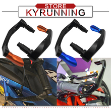 For YZF-R15 YZFR15 YZF R15 V3 2017 2018 Universal Motorcycle Accessories Handlebar Grips Guard Brake Clutch Levers Protector for xj6 xj 6 x j6 j 2009 2015 motorcycle accessories handlebar grips guard brake clutch levers protector falling protection