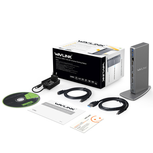 Image 5 - Wavlink aluminium USB C uniwersalna stacja dokująca USB 3.0 Ultra 5K podwójny 4K @ 60Hz HD wiele wyświetlaczy HDMI/Gigabit Ethernet Windows