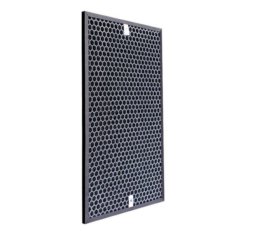 Image 2 - Filtro heap para o purificador de ar afiado KC D50 W, KC E50, KC F50, KC D40E heap filtro 40*22*2.8 cm/carvão ativado filtro 40*22*0.8cmPeças de purificador de ar   -