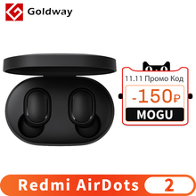 Xiaomi Redmi AirDots 2 Wireless Bluetooth 5.0 Charging Earphone Mi Ture Wireless Earbuds In Ear stereo bass Earphones AI Control