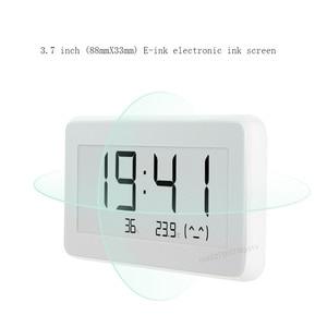 Image 4 - Датчик температуры и влажности Xiaomi Mijia, Bluetooth, ЖК дисплей, цифровой термометр, измеритель влажности, умная связь M