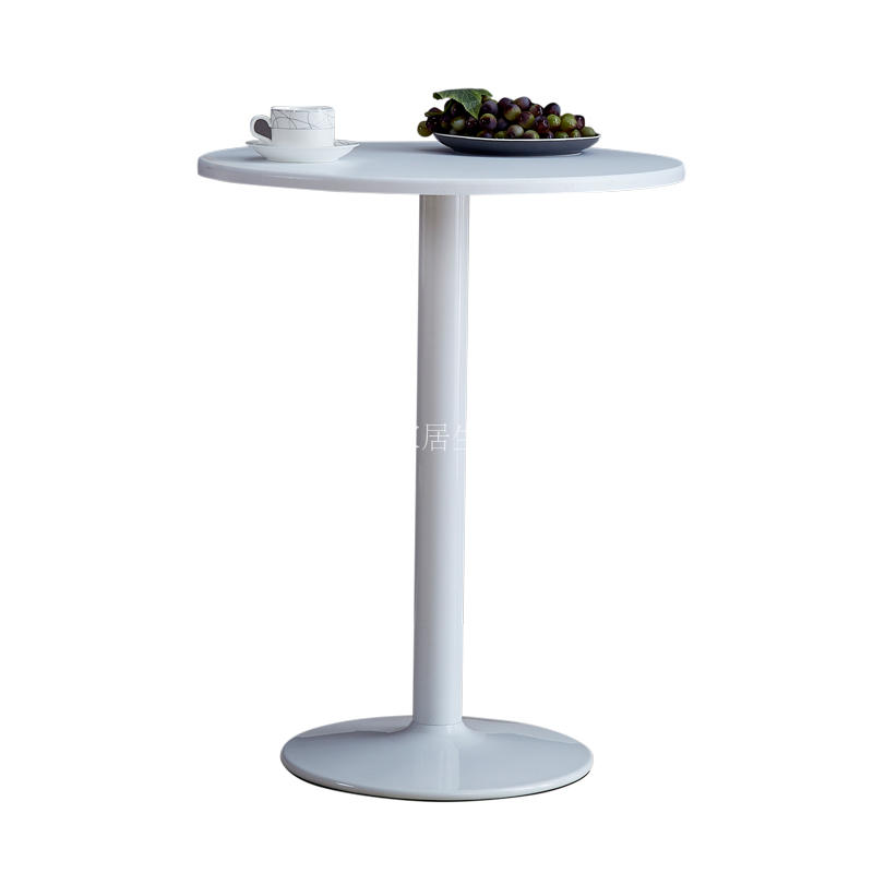 Simple Small Round Table Modern Leisure Round Table Coffee Table Table Table Round Table Discussion Table Balcony   - title=