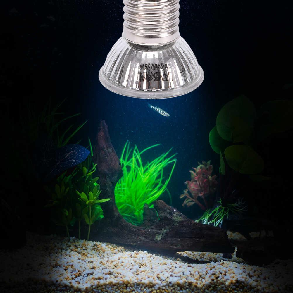 25W 50W 75W Kızılötesi Pet Isıtma Ampul Mini Kızılötesi Seramik Verici Isı Işık lamba ampulü Sürüngen pet Brooder 5*5.5cm