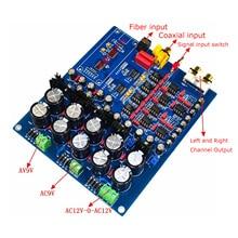 Dual Chip PCM1794+AK4113 PCM1794 AK4113VF JRC5532  NE5534 DAC Decoder Board (Support Fiber Coax USB Input) цена