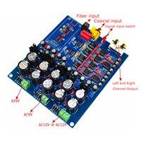 Dual Chip PCM1794 + AK4113 PCM1794 AK4113VF JRC5532 NE5534 DAC Decoder Board (Unterstützung Fiber Coax USB Eingang)