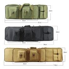 Охота чехол для винтовки ружья 81/94/118 см тактическая Оружейная сумка армейская Шестерни военные съемки страйкбол кобура пистолет сумка для переноски рюкзак для защиты от повреждений