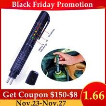 Brake Fluid Tester 5 LED Oil Quality Check Pen Brake Fluid Liquid Tester for DOT3/DOT4/DOT5.1 Car Diagnostic Tool Herramientas