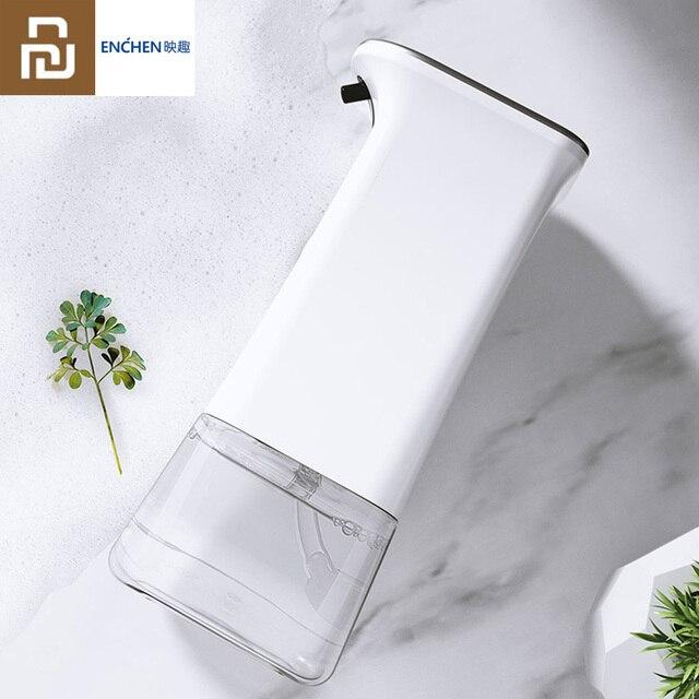 Youpin enchen indução automática de espuma máquina lavar mão conjunto dispensador sabão 0.25s sensor infravermelho 2 engrenagem ajustável