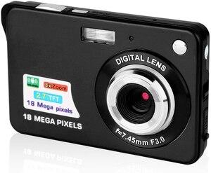 Image 5 - אמיתי Komery מקורי k9 מצלמה 3.5 inch LCD 1800 w פיקסל 4X דיגיטלי זום זמן לשגות צילום מצלמות וידאו שלוש  שנה אחריות