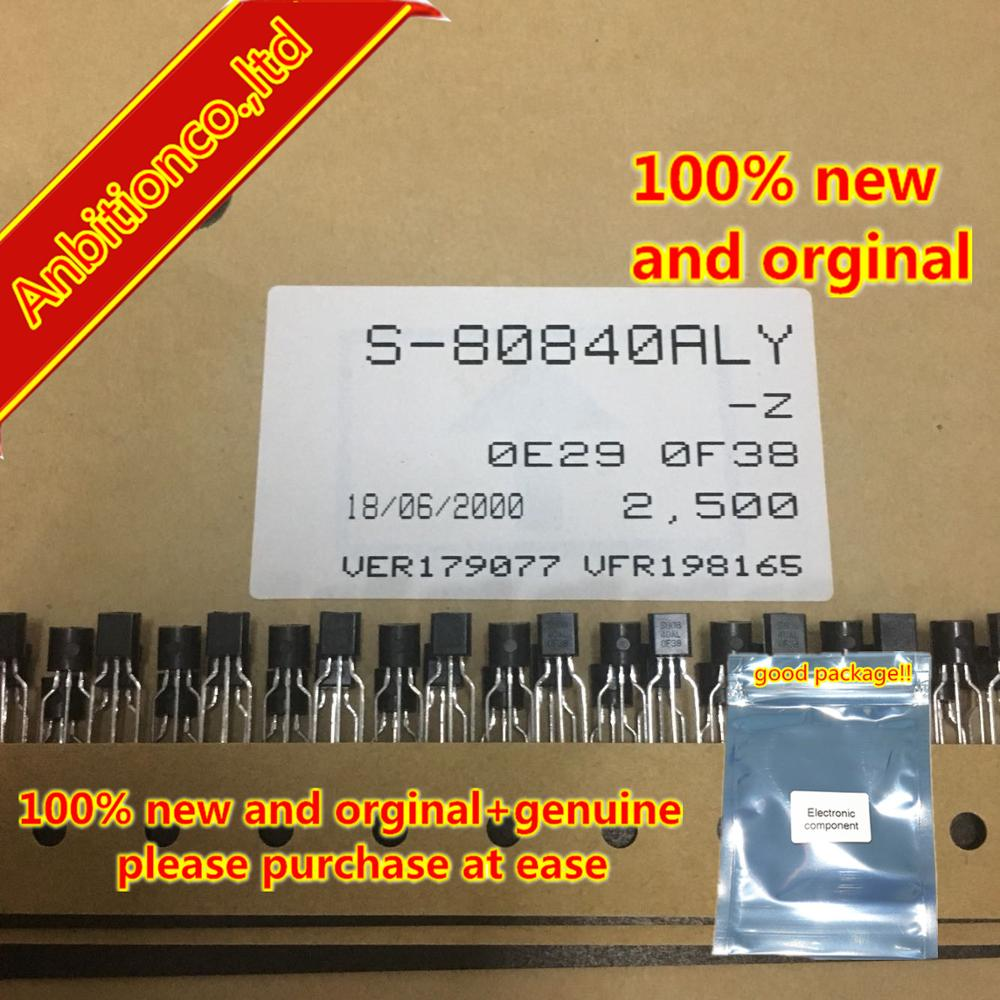 10pcs  100% New And Orginal  S-80840ALY-Z TO-92 In Stock