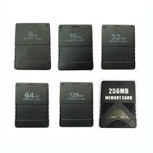 8メートル/16メートル/32メートル/64m/128m/256mメモリカード保存ゲームデータスティックソニープレイステーション2 PS2拡張カードゲームセーバー