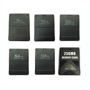 Image 1 - 8M /16M /32M /64M /128M /256M Speicher Karte Sparen spiel Daten Stick Modul Für Sony PlayStation 2 PS2 Erweiterte Karte Spiel Saver