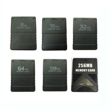 8M /16M /32M /64M /128M /256M זיכרון כרטיס לחסוך משחק נתונים מקל מודול עבור Sony פלייסטיישן 2 PS2 מורחב כרטיס משחק שומר