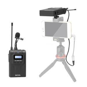 Image 3 - BOYA BY WM8 Pro WM4 Pro K2 K1 UHF Беспроводная микрофонная система всенаправленный петличный микрофон для ENG EFP DV DSLR
