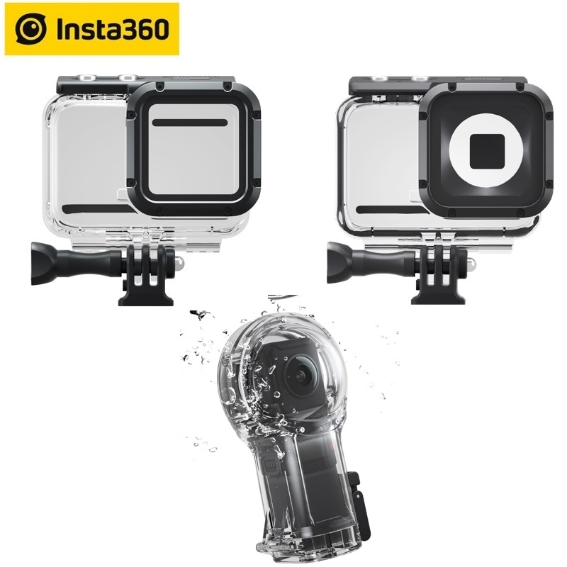 Insta360 ONE R Dive Case For 4K 360 LEICA Lens Twin Edition Camera 60m Waterproof Housing Cover