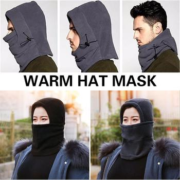 Mask Men Snow Cap Ski Hat Cossack Cap 2019 Earflap Fur Sport Equipment Durable Portable Trapper Winter Warm image