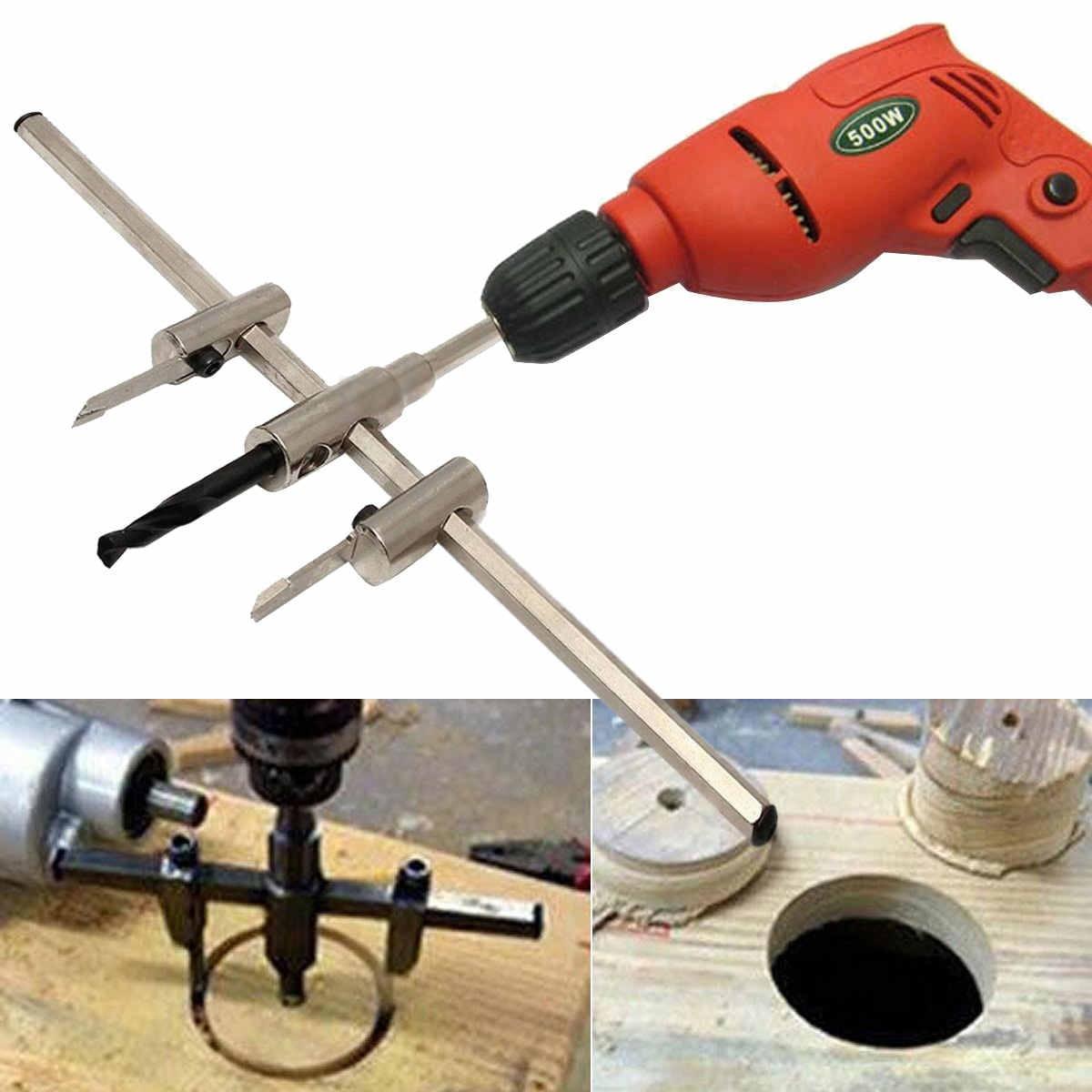 Новое деревообрабатывающее сверло FNICEL 30-300 мм, регулируемое металлическое сверло для кольцевой пилы, набор инструментов для DIY