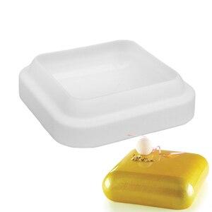 Силиконовый драгоценный камень 600 квадратной формы для выпечки десерта мороженое мусс форма для выпечки украшения инструменты формы для вы...