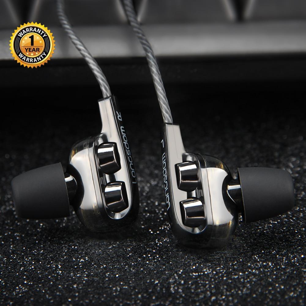Langsdom esporte fones de ouvido 3.5mm para huawei xiaomi gaming headset super baixo com microfone estéreo alta fidelidade fones fone ouvido fone ouvido