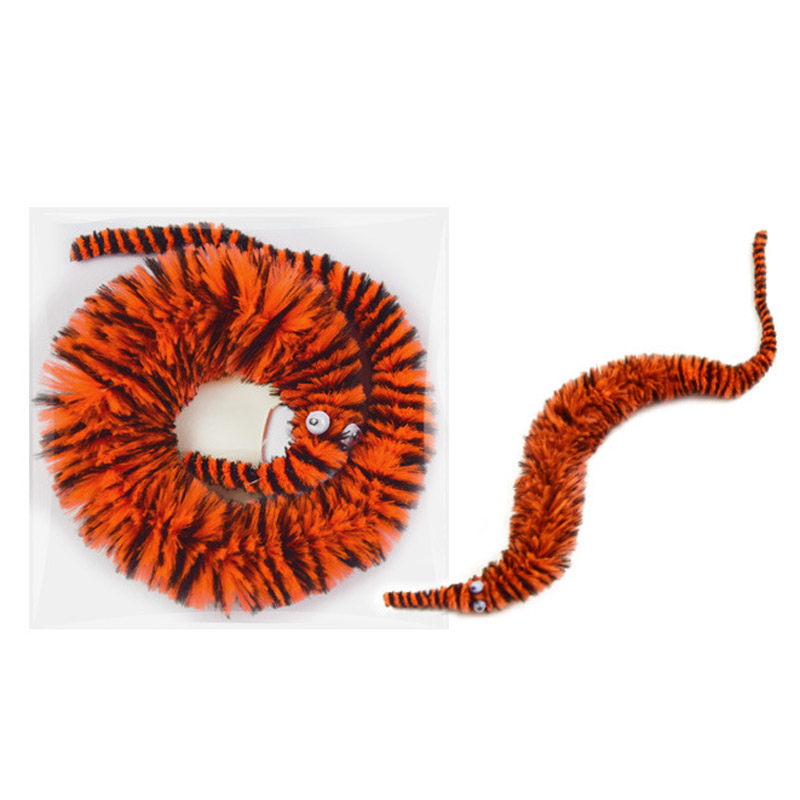 36pcs/lot 18 Colors Wiggly Worms Magic Party Worm Fuzzy Worm On A Strip Toys For Carnival Kid Party Favors Joke Trick Gadgets