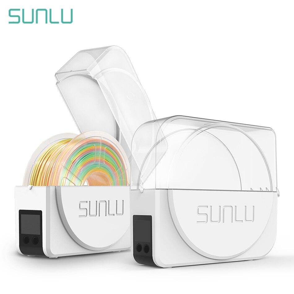 Sunlu filamento 3d caixa de secagem filamentos armazenamento titular mantendo filamento seco impressora 3d companheiro impressão filadriter s1