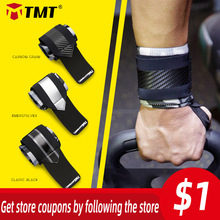 TMT Gym Wrist Wraps Wristband Bandage for Weightlifting Powerlifting Bodybuilding Equipment Hand Weights Support Carpal Tunnel
